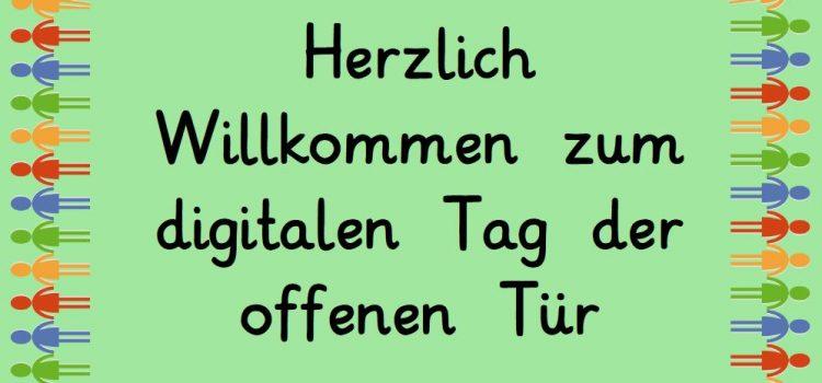 Digitaler Tag der Offenen Tür SJ 2020/21